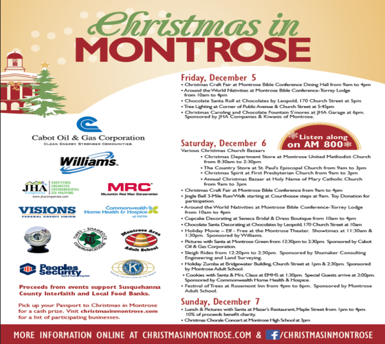 Christmas in Montrose 2014